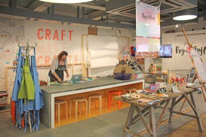 paperchase launch project craft workshops craft business