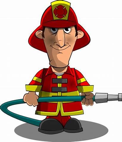 Fireman Firefighter Clipart Clip