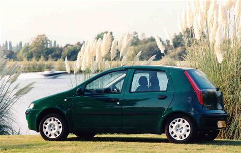 fiat punto 2002 greece 2002 fiat punto peugeot 206 and 307 on podium