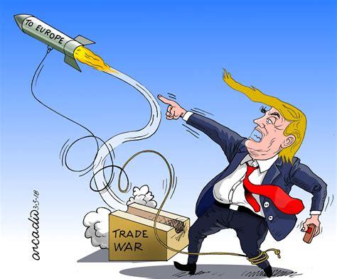 avec la guerre commerciale trump se tire une balle dans