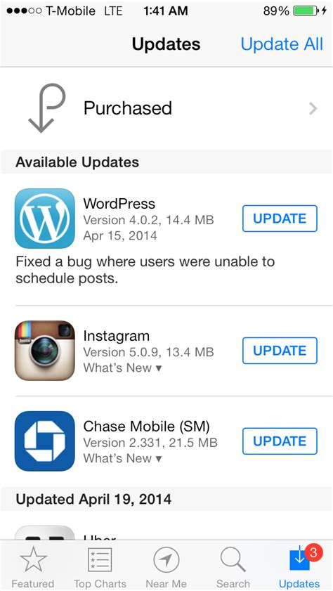 iphone apps not updating image gallery iphone app updates