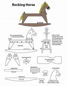 rocking horse plans free download woodideas
