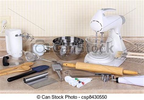 Stock Photography Of Baking Tools And Appliances
