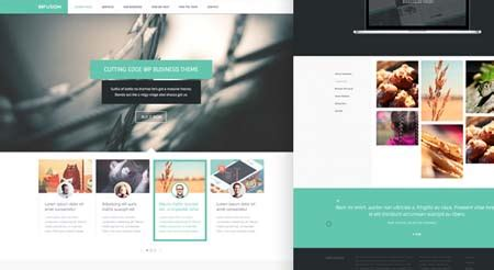 infusion htmlcss web template psd