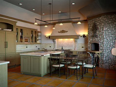 Tuscan Style Kitchen : Tuscan Style Bathrooms Concept