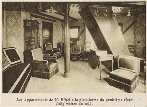 bureau logement tours découvrez l 39 appartement secret de la tour eiffel
