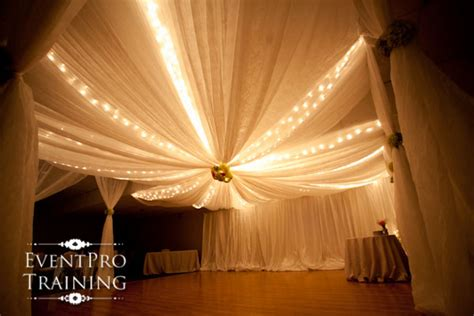 gossamer draping fabric for weddings and events