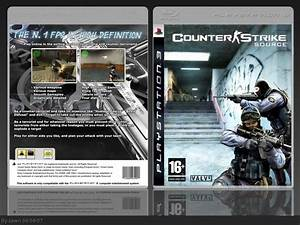 Counter-Strike: Source PlayStation 3 Box Art Cover by spwn