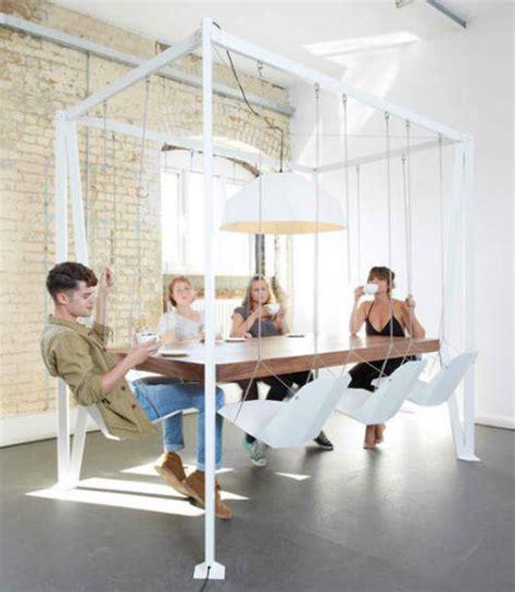 swinging times 13 stylish indoor swings urbanist