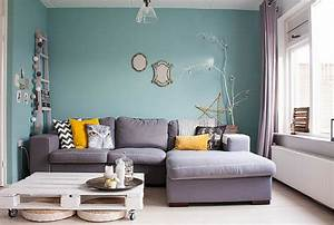 2017 color trends for your home interior according to With superior peindre un mur de couleur dans un salon 12 bleu deco peinture bleue bleu ciel bleu turquoise