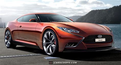 2016 hyundai genesis coupe sports cars hyundai sketches out hnd 9 luxury sports coupe concept
