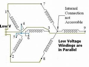 230v 3 Phase Motor Wiring Diagram