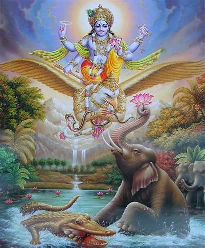 Vishnu Lord Wallpapers Bhagwan Garuda