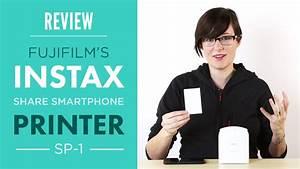 Fujifilm Instax SHARE Smartphone SP-1 Printer Review