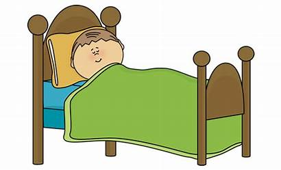 Bed Clipart Toddler Sleep Tidur Clip Child