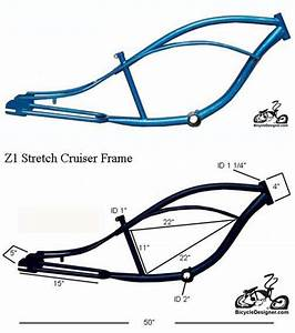 Inlcudes Z1 Stretch Cruiser Frame Blue This Frame Can Use