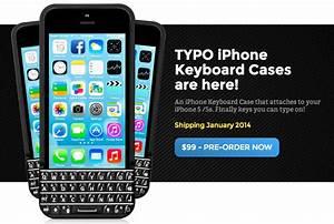 iPhone向けBlackBerry風キーボードケースのTYPOをBlackBerryが訴える – Dream Seed