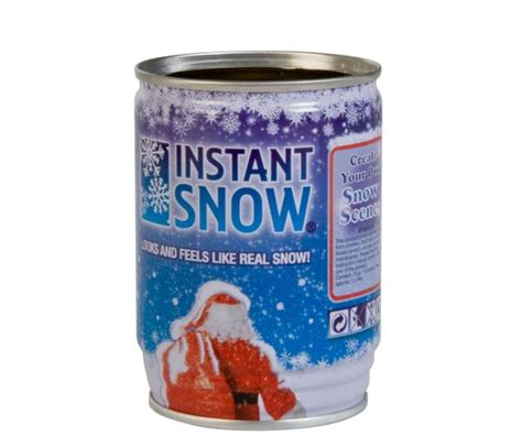 instant snow in a can iwoot