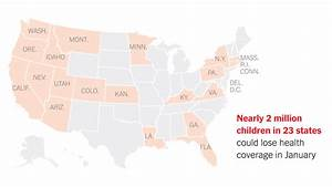 Unless Congress Acts, Nearly 2 Million Children Could Lose ...