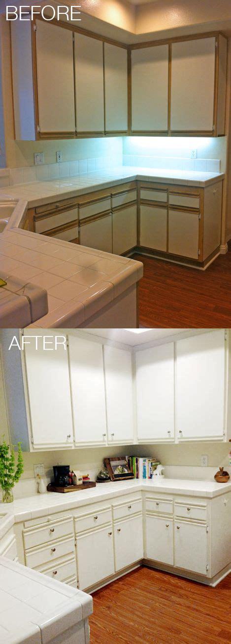 easy  affordable kitchen makeover update  laminate