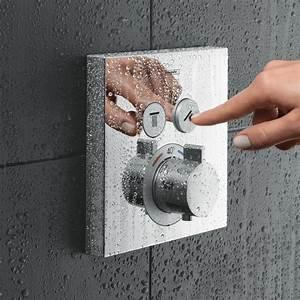 Unterputz Thermostat Dusche : hansgrohe showerselect thermostat unterputz 2 verbraucher badshop installationen badshop ~ Frokenaadalensverden.com Haus und Dekorationen