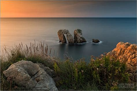 sunset  urro del manzano  cantabria spain