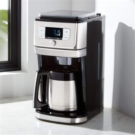 From here you can find out the right ways of operating which will. Cuisinart Fully Automatic Burr Grind and Brew Thermal 10-Cup Coffeemaker + Reviews   Crate and ...
