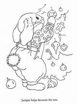 Coloring Bonnie Christmas Pages Picasaweb Google Picasa Julie Journey Jones Decorating Web sketch template