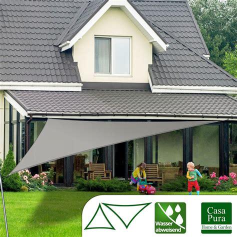Sonnensegel Für Terrasse by Sonnensegel Wasserabweisend Dreieck 5 Farben 4