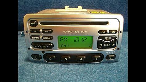 ford 6000 cd ford 6000 cd radio autoradio carradio car 97fp 18c815 da