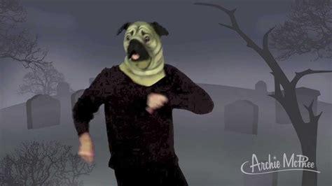 pug kin dance archie mcphee halloween dance  seattle youtube