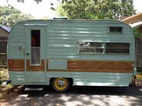 Vintage Canned Ham Camping Trailers