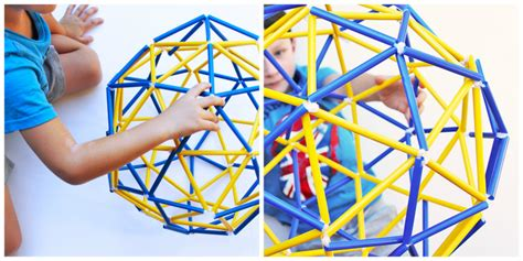 Engineering For Kids Straw Geodesic Dome & Sphere