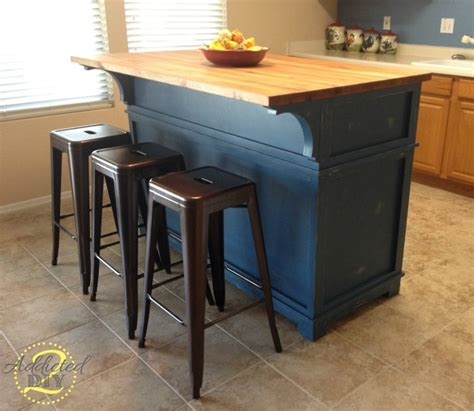 how to make kitchen island diy kitchen island addicted 2 diy