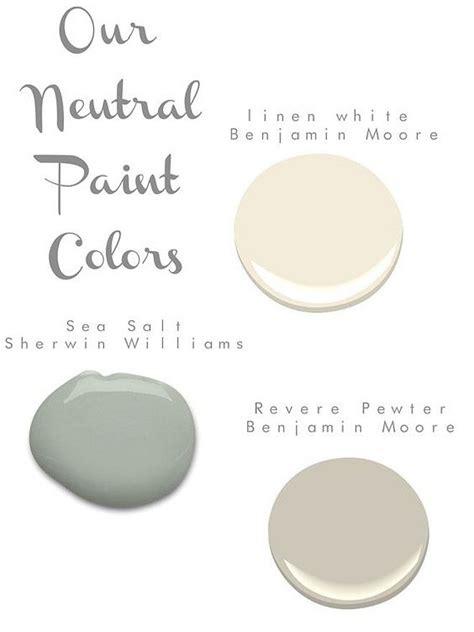 pretty combination benjamin linen white and revere