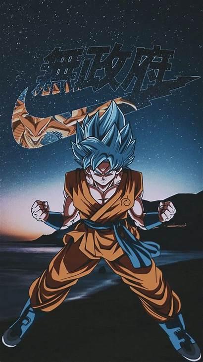 Goku Nike Dragon Ball Ssgss Supreme Son