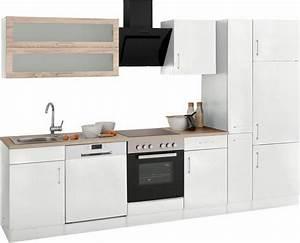 Held mobel kuchenzeile ohne e gerate utah breite 310 cm for Küchenzeile ohne ger te