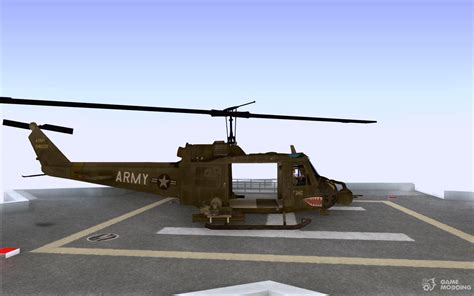 Huey Helicopter From Call Of Duty Black Ops For Gta San