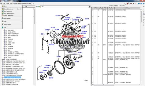 Mitsubishi Fuso Parts Catalog by Mitsubishi Fuso Truck Global Parts Catalog Epc Software