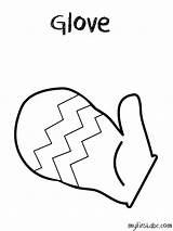 Gloves Coloring Glove Boxing Colouring Getdrawings Clipart Printable Getcolorings sketch template