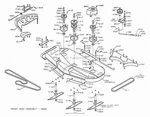 Dixon Ztr 5023  2002  Parts Diagram For Mower Deck 50 U0026quot