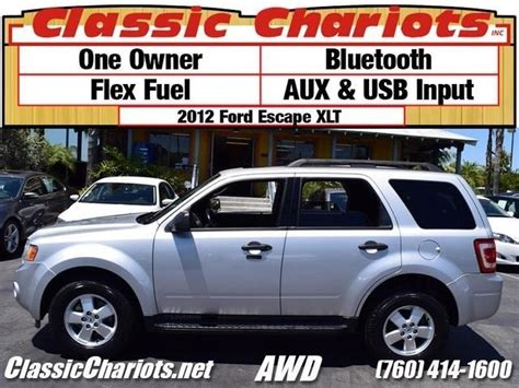soldused suv    ford escape xlt awd