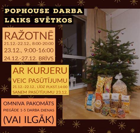 Pophouse darba laiks svētkos | Pophouse.lv