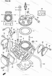 Suzuki Motorcycle 2000 Oem Parts Diagram For Cylinder
