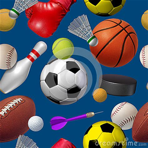 sports seamless pattern royalty  stock photo image