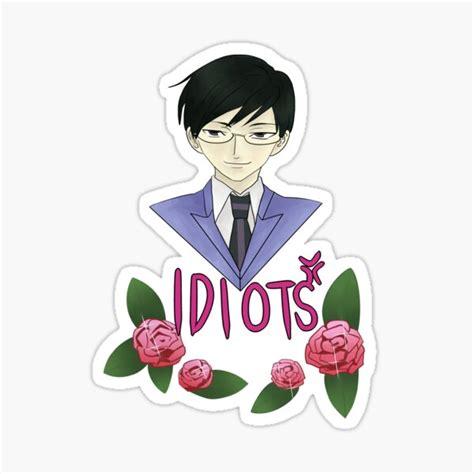 kyoya ootori stickers redbubble