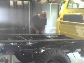 1955 chevy truck bed build