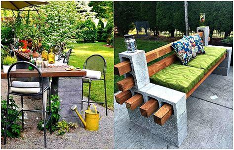 17 lieliski piemēri betona bloku izmantošanai jūsu dārzā ...