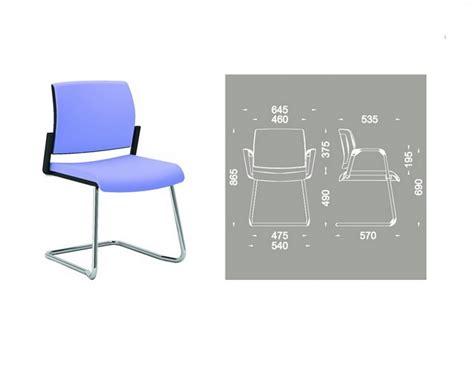 chaise de bureau top office chaise bureau pied u accoudoirs réunion ou visiteur office 605