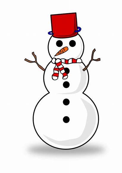 Snowman Clipart Background Snow Transparent Clip Coloring